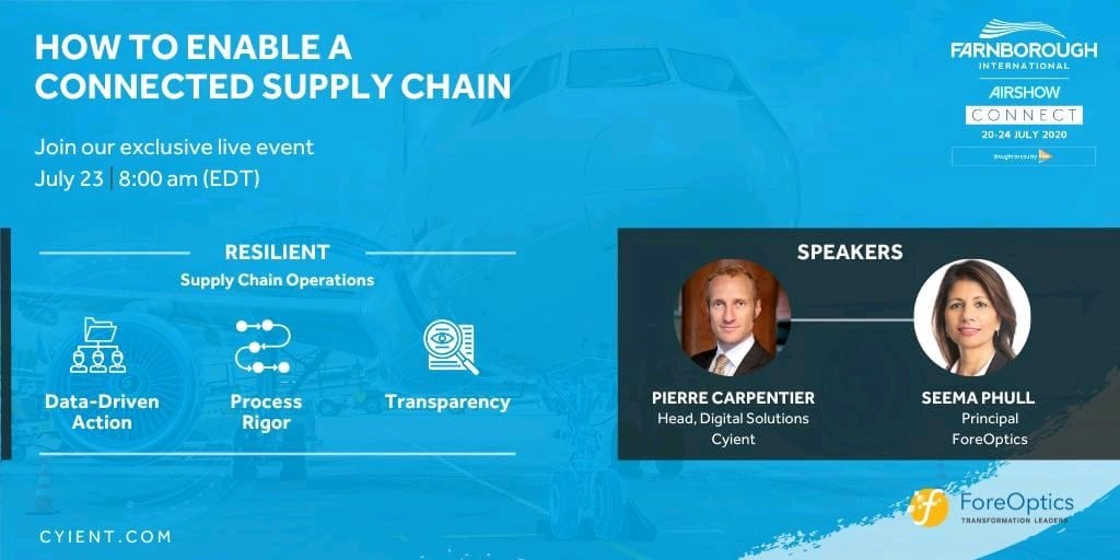 Webinar – How to enable a connected supply chain