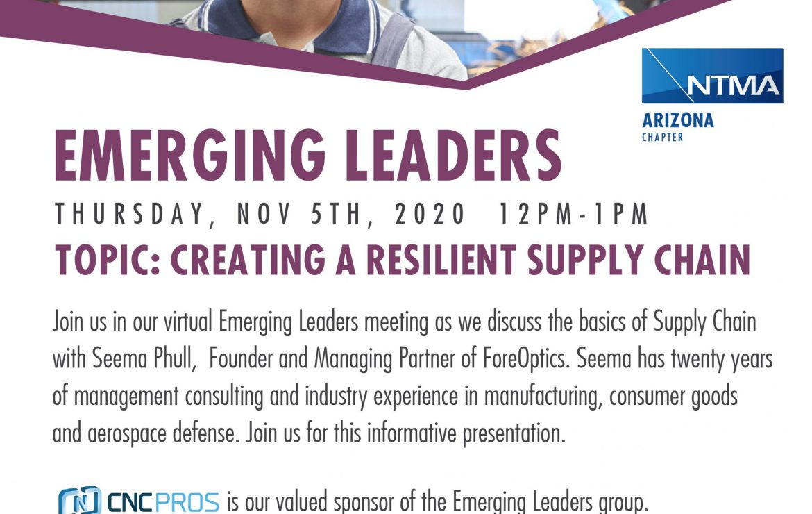 Emerging Leaders in the Tooling & Manufacturing Industry